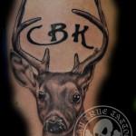 Deer cover tattoo