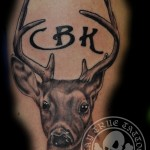 Deer Cover Tattoo