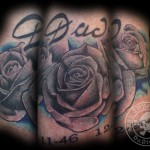 Rose Cover Tattoo